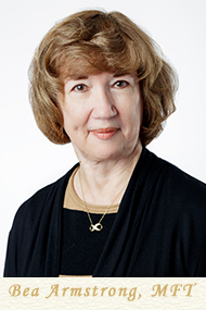 Bea Armstrong, MFT - Licensed Marriage and Family Therapist